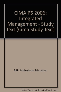 9780751726411: CIMA P5 (Cima Study Text)