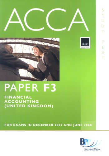 9780751732887: ACCA (New Syllabus) - F3 Financial Accounting (UK): Study Text