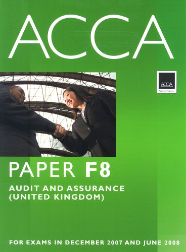 9780751732948: Acca: Paper F8 Audit And Assurance (United Kingdom)