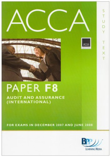 9780751732993: ACCA (New Syllabus) - F8 Audit and Assurance (International): Study Text (Acca New Syllabus Study Text)