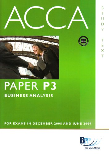 9780751747362: ACCA - P3 Business Analysis: Text