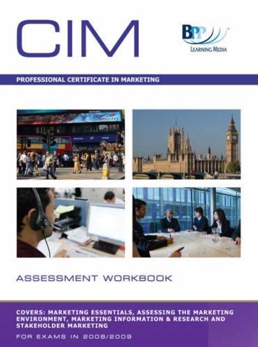 9780751751598: CIM - (1-4) Professional Certificate in Marketing: Assessment Kit