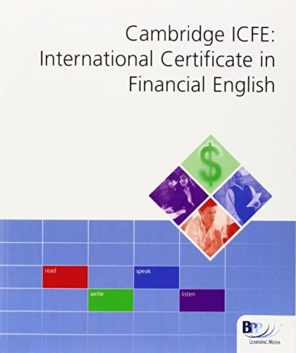 9780751754933: Cambridge ESOL International Certificate in Financial Englis: Workbook (Int Cert Financial Eng Workbk)