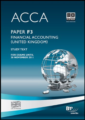 9780751763638: ACCA - F3 Financial Accounting (GBR)