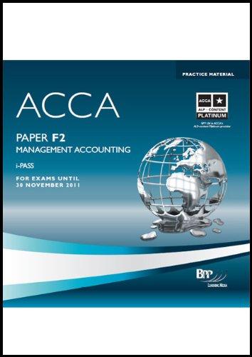 9780751763881: ACCA - F2 Management Accounting: i-Pass