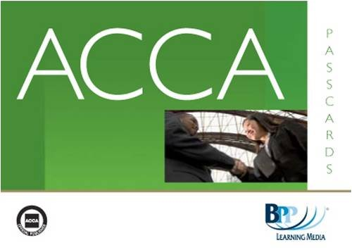 9780751766363: ACCA - F5 Performance Management: Paper F5: Passcards