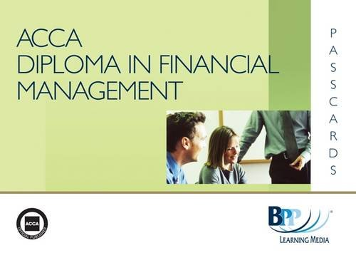 9780751766837: Diploma in Financial Management (DipFM) - Interpretation of Financial Statements: Module A: Passcards