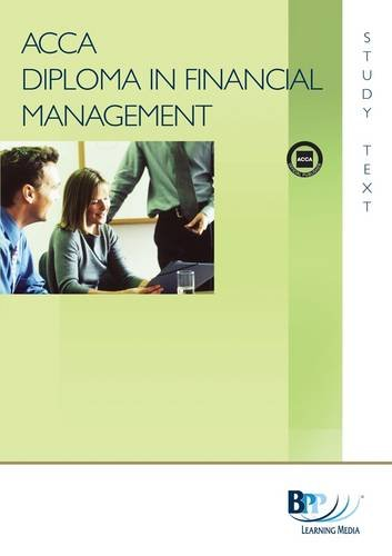 9780751766905: Diploma in Financial Management (DipFM) - Interpretation of Financial Statements: Module A : subject area 1: Study Text