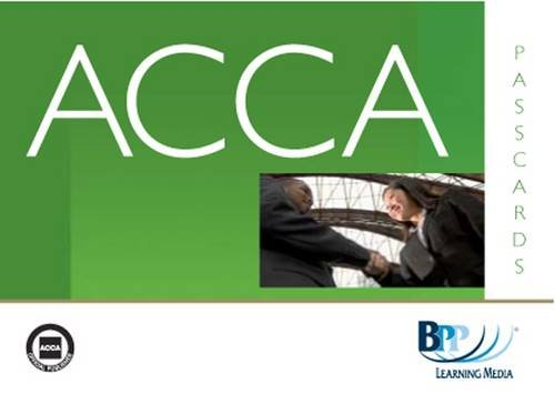 9780751767537: ACCA - P1 Professional Accountant: Passcards