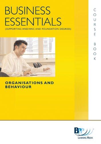 9780751768299: Business Essentials - Organisation and Behaviour: Study Text