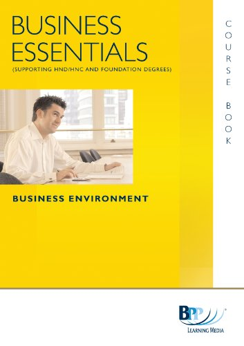9780751768305: Business Essentials - Business Environment: Study Text