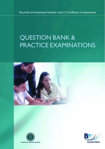 9780751771732: SII Certificate - Securities: Syllabus version 9: Question Bank and Practice Examinations