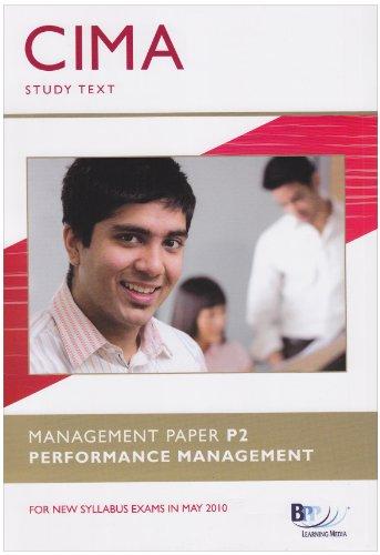 9780751775075: CIMA - P2: Performance Management: Study Text