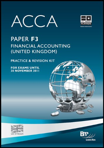 9780751780482: ACCA - F3 Financial Accounting (GBR): Paper F3: Revision Kit