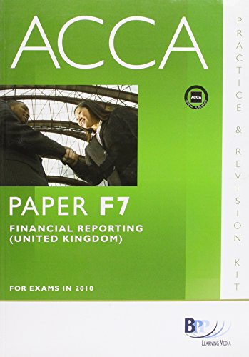 9780751780536: ACCA - F7 Financial Reporting (GBR): Paper F7: Revision Kit