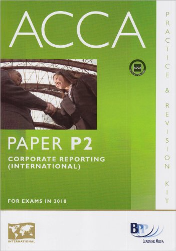 9780751780604: ACCA - P2 Corporate Reporting (INT): Revision Kit