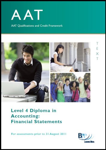 9780751785647: AAT - Financial Statements: Study Text