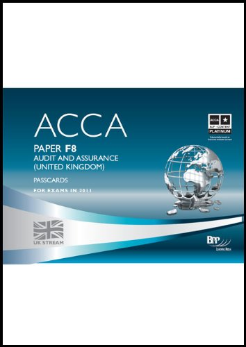 9780751788969: ACCA - F8 Audit and Assurance (GBR): Paper F8: Passcards