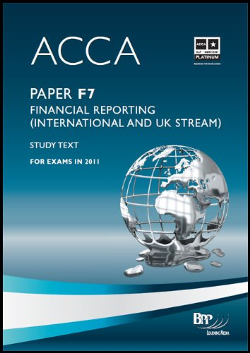 9780751789232: Acca: Paper F7: Financial Reporting (International and UK Stream)
