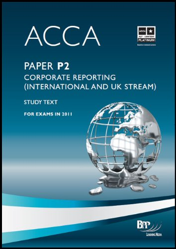 9780751789294: Acca - P2 Corporate Reporting (Int): Study Text