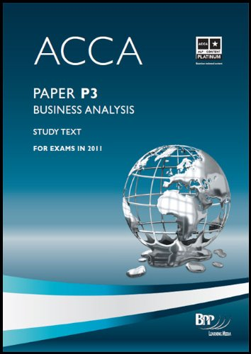 9780751789300: Acca - P3 Business Analysis: Study Text