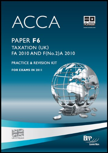 9780751794021: Acca - F6 Taxation Fa2010: Revision Kit