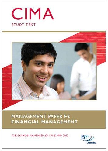 9780751794793: Cima - Financial Management: Study Text