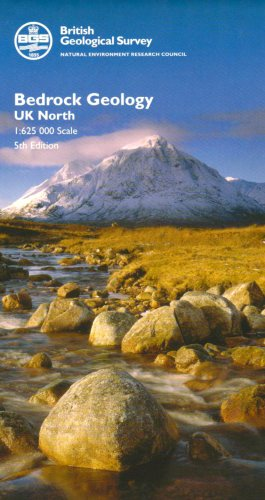 9780751835021: Bedrock Geology UK North (Small Scale Geology Maps)