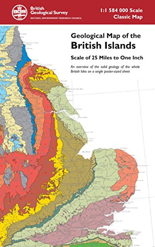 Geological map of the british islands british geological survey view larger image gumiabroncs Gallery