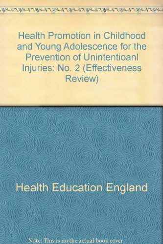 Health Promotion in Childhood and Young Adolescence: Health Education Authority
