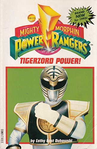 """9780752206394: Mighty Morphin Power Rangers: Tiger Zord Power (""""Mighty Morphin Power Rangers"""" junior novels)"""