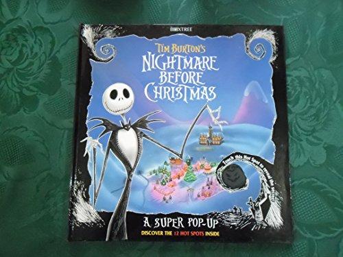 Tim Burton's Nightmare Before Christmas a Pop Up Book by Burton ...