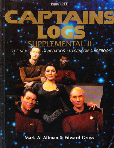 9780752209388: Captain's Log Supplemental: Season 7