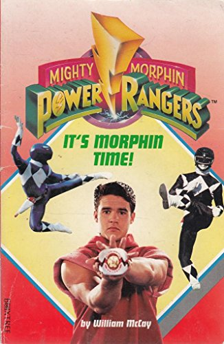 """9780752209395: Mighty Morphin Power Rangers: It's Morphin Time (""""Mighty Morphin Power Rangers"""" junior novels)"""