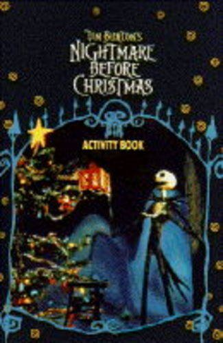 9780752209982: Tim Burton's Nightmare Before Christmas: Activity Book