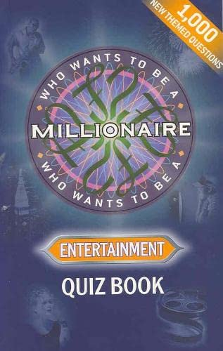 Who Wants to Be a Millionaire?' Entertainment : Quiz Book: Celador
