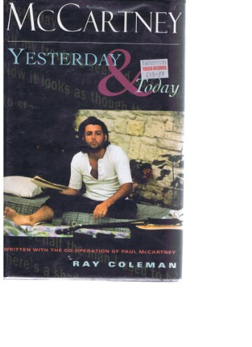9780752216690: McCartney: Yesterday and Today