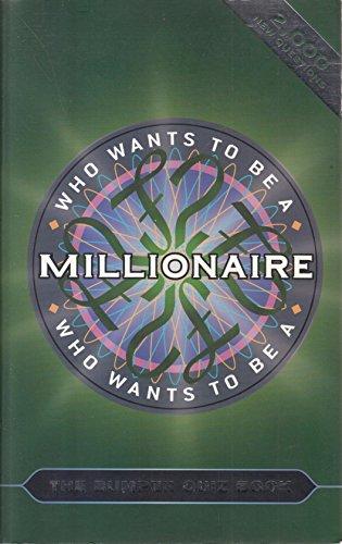 "Who Wants to be a Millionaire?"": The Bumper Quiz Book: Quizmasters"