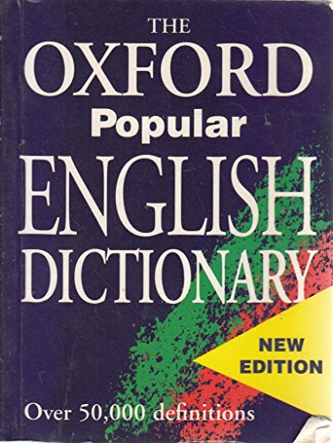 9780752544540: The Oxford Popular English Dictionary