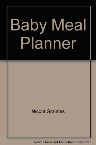 9780752552057: Baby Meal Planner