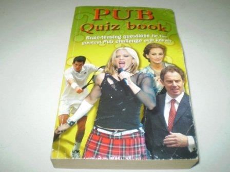 9780752569499: Pub Quiz (Trivia)