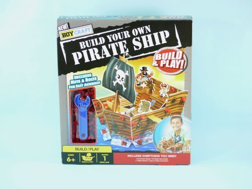 9780752576589: Build Your Own Pirate Ship