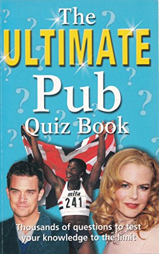 9780752587646: The Ultimate Pub Quiz