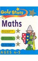 Maths 4-5 (Gold Stars Workbooks): PETER PATILLA