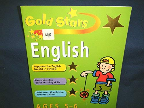 English (Gold Stars Workbook) Ages 5-6