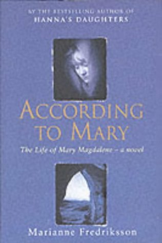 According To Mary: MARIANNE FREDRIKSSON