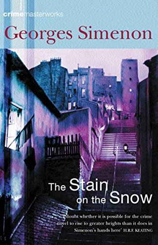 9780752853789: The Stain on the Snow (Crime masterworks)