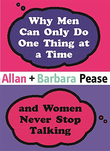 9780752856292: Why Men Can Only Do One Thing at a Time Women Never Stop Talking