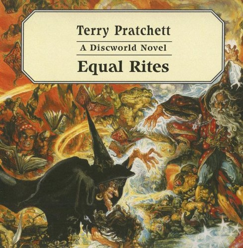 Cover of the book, Equal Rites (Discworld, #3).