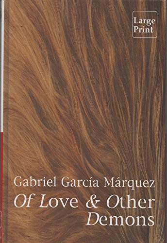 Of Love and Other Demons: Marquez, Gabriel Garcia.